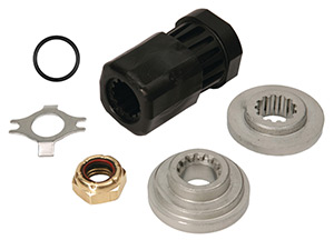 835257Q12 Reflex Hub Kit for most 40-60 Hp Outboards