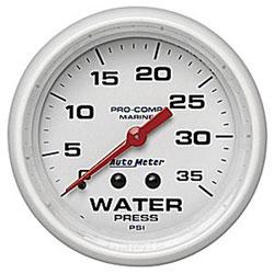 Autometer Marine Gauges and Senders