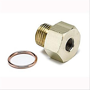 "1/8"" NPT Female to 16mm x 1.5 Male Metric Adapter"