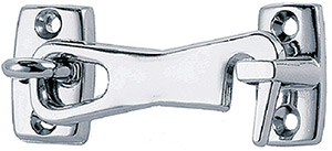 "2"" Door Hook Chrome Plated Zinc"""