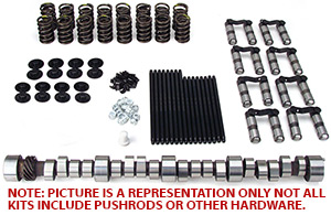LS Chevy Hydraulic Roller Cam Kit with 24x Timing Chain Set