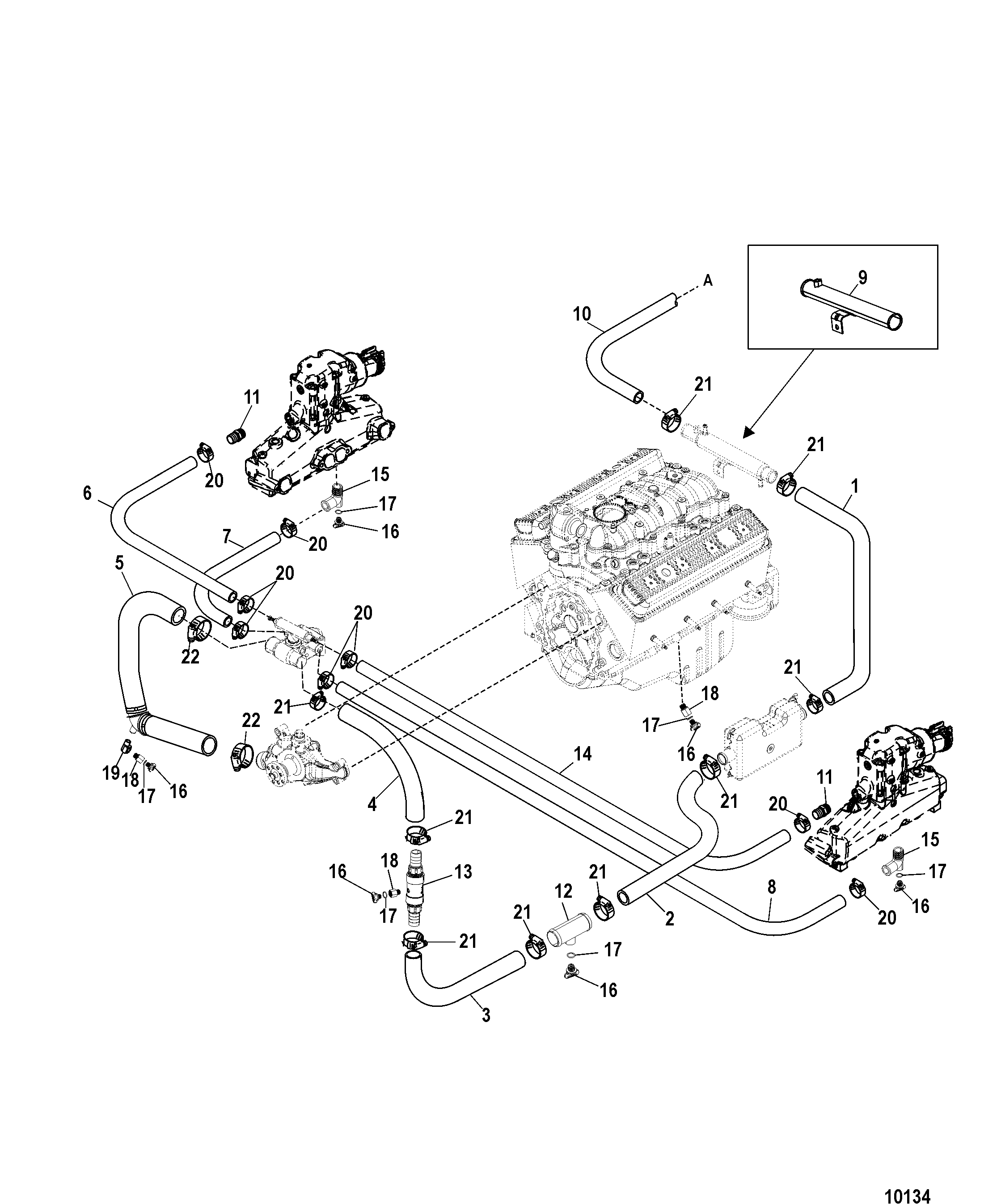 10134 mercruiser 5 0 engine diagram wiring library