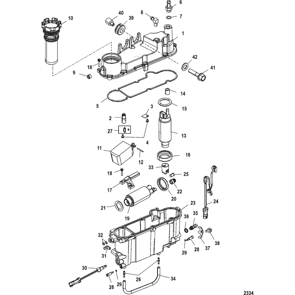 New Mercury Mercruiser Quicksilver Oem Part # 25-891778 O Ring