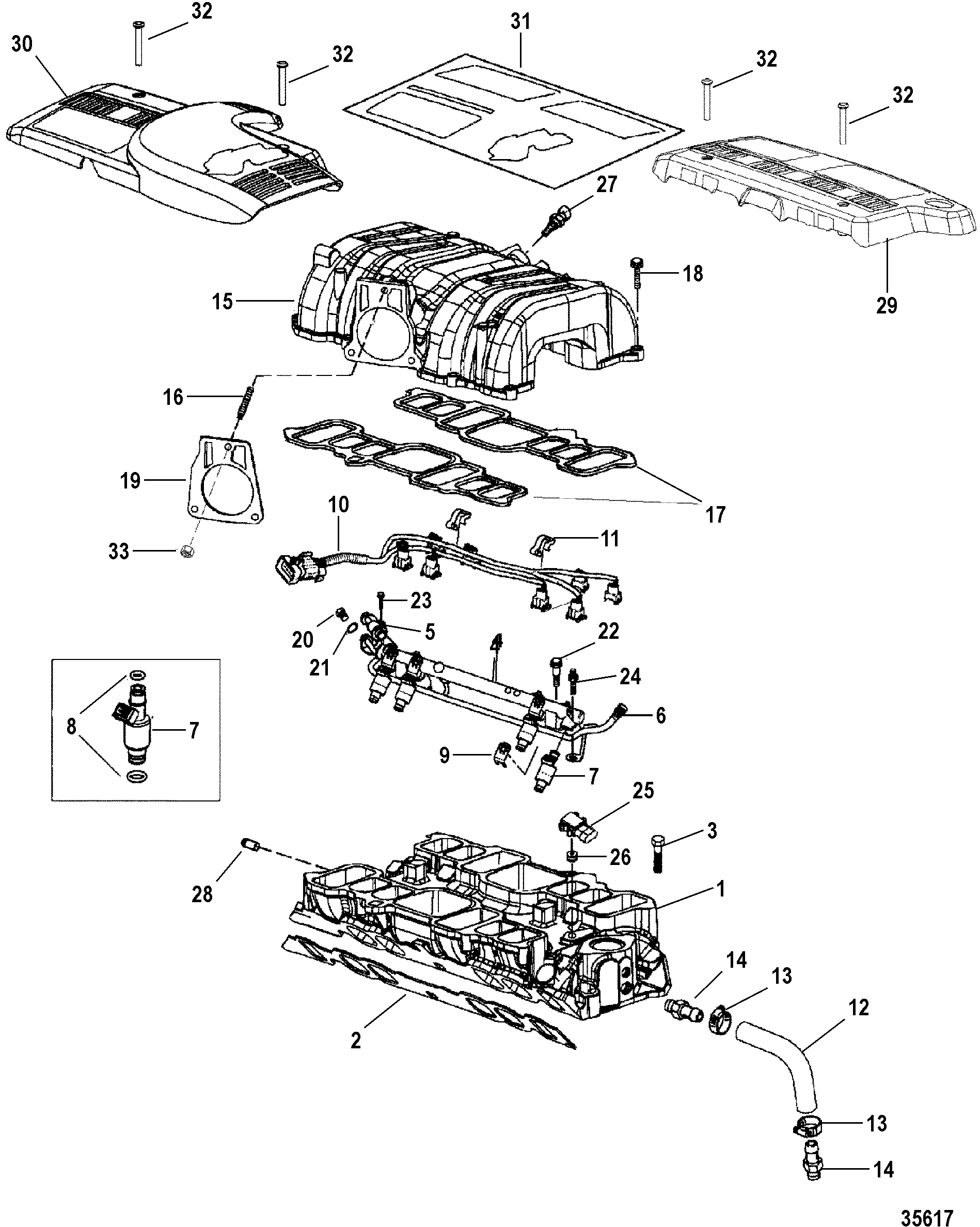 gm 350 intake manifold to engine diagram wiring library Motor Truck 7 4l mpi bravo gen 6 gm 454 v 8 1998 2000