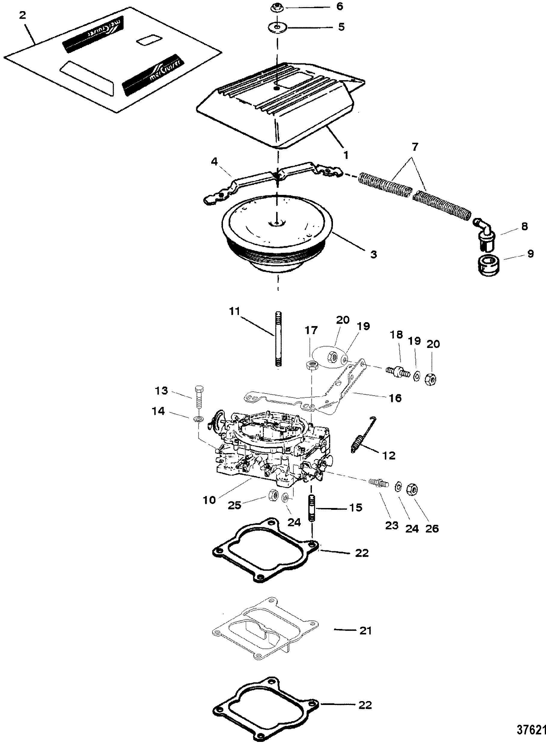 CP Performance - Carburetor-Throttle Linkage (4 Barrel) on