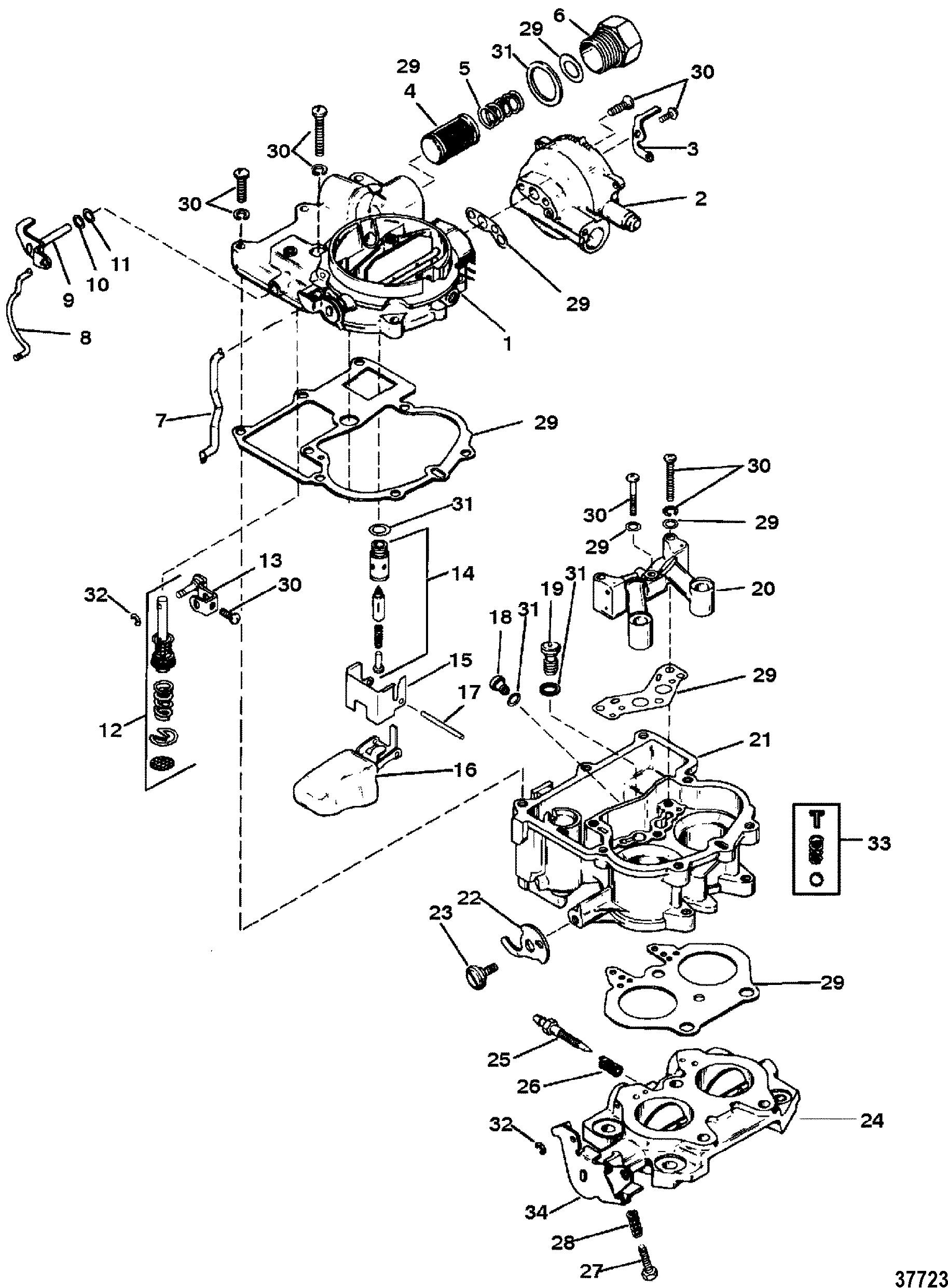 cp performance - carburetor  mercarb