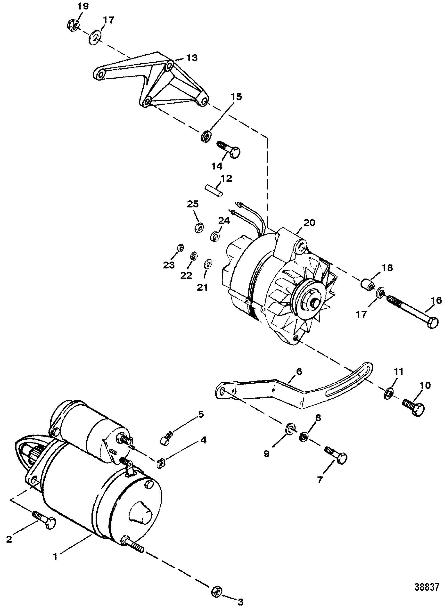 marine 454 starter alternator wiring diagram wiring library Three Wire GM Alternator Wiring Diagram marine 454 starter alternator wiring diagram