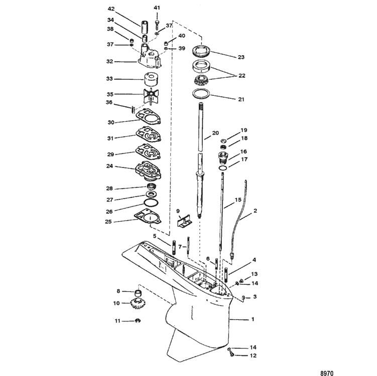 cp performance - gear housing  driveshaft