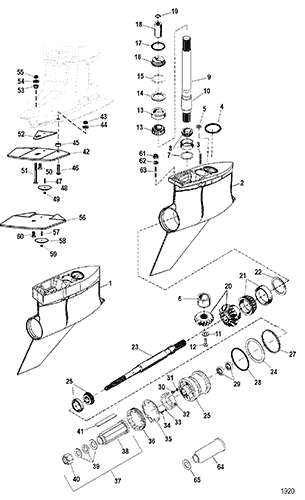 Mercruiser Bravo Xr Lower Unit Diagram