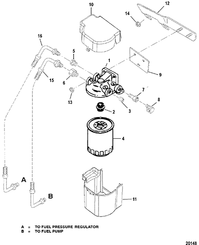 Cp Performance Fuel Filter