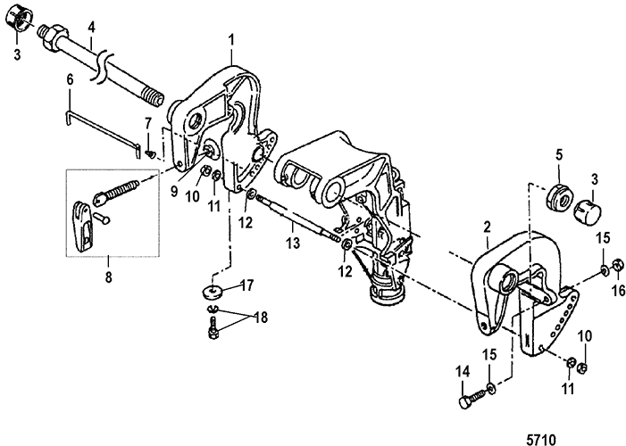 Merc 1000 100hp Mercury Outboard Wiring Diagram Schematic