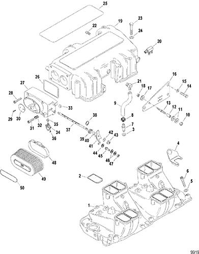 V8 Engine Intake