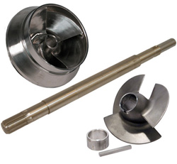 Stainless Impeller, Inducer & Shaft Kit