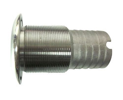 "1-1/2"" Slip-On Hose Stainless Steel Water Discharge Fitting"