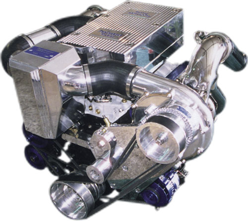 ProCharger Marine Dual Carb MS Intercooled Kit