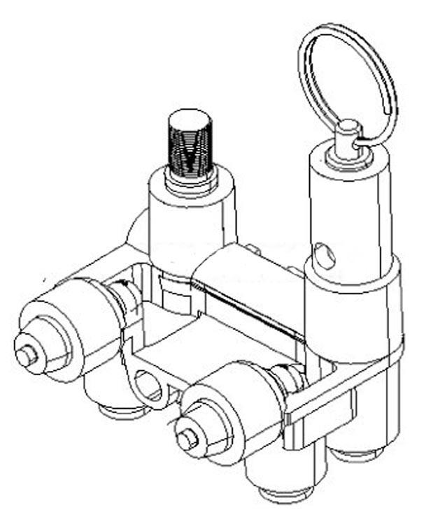 New Mercury Mercruiser Quicksilver Oem Part # 863053T Manifold-Air