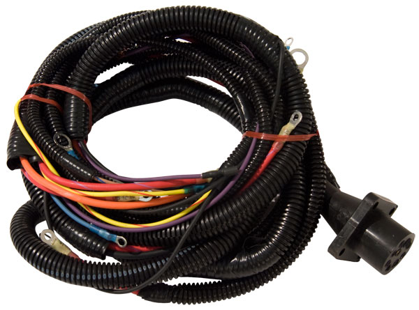 cp performance - big block chevy mercruiser style engine harness for msd  ignition  cp performance