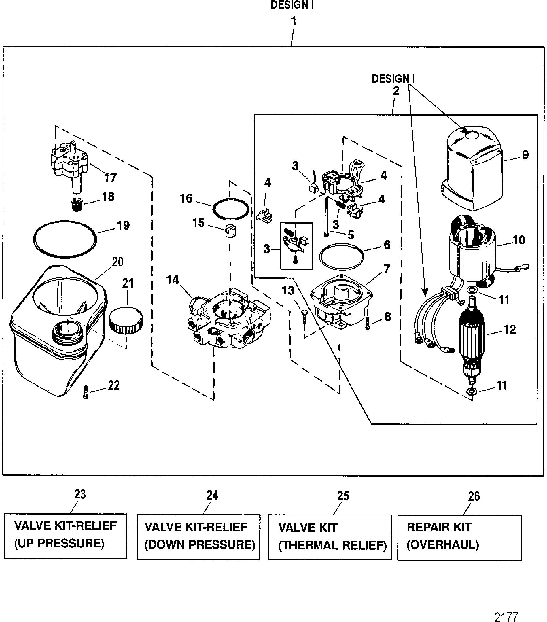 Cp Performance - Pump - Motor  Bottom Mt Reservoir   Design I